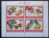 Poštovní známky Togo 2010 Ovoce Mi# 3399-3402 Kat 8.50€