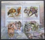 Poštovní známky Togo 2012 Sovy Mi# 4428-31 Kat 12€