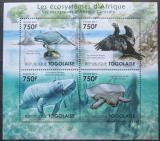 Poštovní známky Togo 2011 Fauna středoafrických mangrovníků Mi# 4149-52 Kat 12€