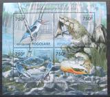 Poštovní známky Togo 2011 Fauna jihoafrických mangrovníků Mi# 4161-64 Kat 12€