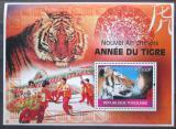 Poštovní známka Togo 2010 Čínský nový rok, rok tygra Mi# Block 528 Kat 12€
