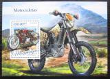 Poštovní známka Mosambik 2016 Motocykly Mi# Block 1169 Kat 20€