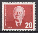 Poštovní známka DDR 1961 Prezident Wilhelm Pieck Mi# 807