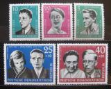 Poštovní známky DDR 1961 Osobnosti Mi# 849-53