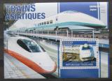 Poštovní známka Togo 2010 Moderní asijské lokomotivy Mi# Block 565 Kat 12€