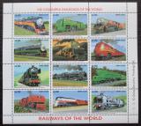 Poštovní známky Sierra Leone 1995 Lokomotivy Mi# 2294-2305 Kat 11€