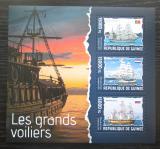 Poštovní známky Guinea 2014 Plachetnice Mi# 10275-77 Kat 18€