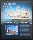 Poštovní známka Guinea 2014 Plachetnice Mi# Block 2344 Kat 16€