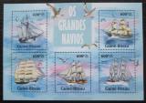 Poštovní známky Guinea-Bissau 2013 Plachetnice Mi# 6718-22 Kat 12€