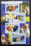 Poštovní známky Guinea 2015 Papež Jan Pavel II. Mi# 11113-16 Kat 16€
