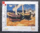 Poštovní známka Chorvatsko 2000 Umění Mi# 562