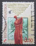 Poštovní známka Chorvatsko 2000 Marko Marulič, spisovatel Mi# 542