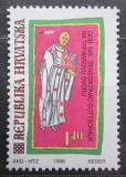 Poštovní známka Chorvatsko 1996 Gottschalk, teolog Mi# 393