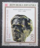 Poštovní známka Chorvatsko 1993 Ivan Goran Kovačič, spisovatel Mi# 233
