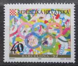 Poštovní známka Chorvatsko 1992 LOH Barcelona Mi# 203