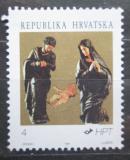 Poštovní známka Chorvatsko 1991 Vánoce Mi# 184
