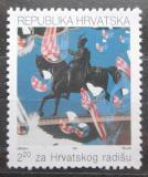 Poštovní známka Chorvatsko 1991 Památník, daňová Mi# 13 A