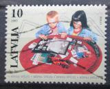 Poštovní známka Lotyšsko 1997 Děti a známky Mi# 459