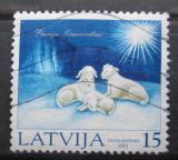 Poštovní známka Lotyšsko 2001 Vánoce Mi# 561