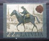Poštovní známka Lotyšsko 2007 Poštovní doručovatel Mi# 711