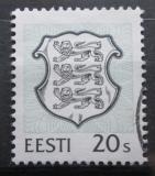 Poštovní známka Estonsko 1995 Státní znak Mi# 266