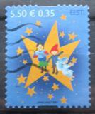 Poštovní známka Estonsko 2007 Vánoce Mi# 598