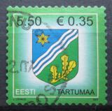 Poštovní známka Estonsko 2007 Znak Tartumaa Mi# 590