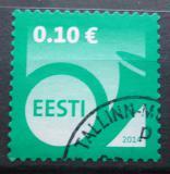Poštovní známka Estonsko 2014 Poštovní roh Mi# 784