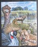 Poštovní známka Togo 2011 Fauna afrických bažin Mi# Block 643 Kat 12€