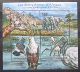 Poštovní známky Togo 2011 Fauna afrických bažin Mi# 4165-68 Kat 12€