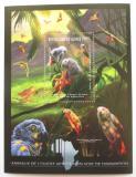 Poštovní známka Guinea 2012 Fauna západní Afriky, papoušci Mi# Block 2076 Kat 18€