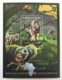 Poštovní známka Guinea 2012 Fauna západní Afriky, mandril Mi# Block 2082 Kat 18€