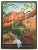 Poštovní známka Guinea 2012 Fauna západní Afriky, levhart Mi# Block 2084 Kat 18€