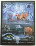 Poštovní známka Guinea 2012 Fauna západní Afriky, sloni Mi# Block 2086 Kat 18€