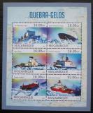 Poštovní známky Mosambik 2013 Ledoborce, lodě Mi# 6483-88 Kat 10€
