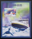 Poštovní známka Mosambik 2013 Ledoborce, lodě Mi# Block 745 Kat 10€