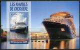 Poštovní známka Niger 2016 Výletní lodě Mi# Block 541 Kat 10€