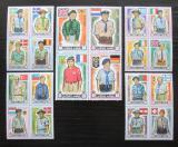 Poštovní známky Adžmán 1971 Skauti TOP SET Mi# 904-23