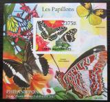 Poštovní známka Komory 2011 Motýli neperf. Mi# Block 620 B Kat 12€