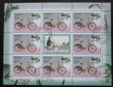 Poštovní známky Rusko 2008 Cyklistika Mi# 1521 Bogen Kat 10€