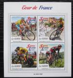 Poštovní známky Sierra Leone 2015 Tour de France, cyklistika Mi# 6753-56 Kat 11€
