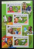 Poštovní známky Guinea 2015 Africký pohár, fotbal Mi# 11149-52 Kat 16€