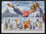 Poštovní známky Guinea-Bissau 2015 Papež Jan Pavel II. Mi# 7678-81 Kat 12€
