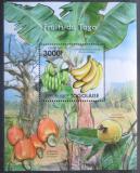 Poštovní známka Togo 2011 Ovoce Mi# Block 631 Kat 12€