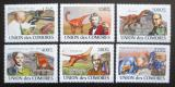 Poštovní známky Komory 2009 Paleontologové Mi# 1960-65 Kat 11€