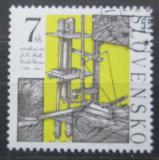 Poštovní známka Slovensko 1999 Vodosloupcový stroj Mi# 348