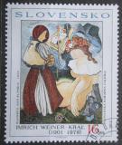 Poštovní známka Slovensko 2001 Umění, Král Mi# 410