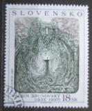 Poštovní známka Slovensko 2001 Umění, Brunovský Mi# 411