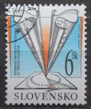 Poštovní známka Slovensko 2002 Technická univerzita v Košicích,50. výročí Mi# 435