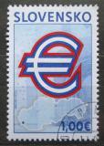 Poštovní známka Slovensko 2009 Přijetí Eura Mi# 596